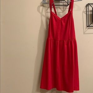 Red forever 21+ red summer/night out dress